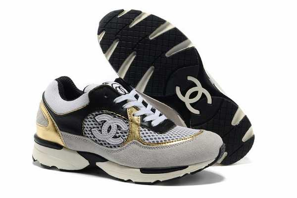 b63fa39250fb chaussures chanel sur ebay chaussures chanel pour femme fausse chaussure  chanel basket9802273948542 1