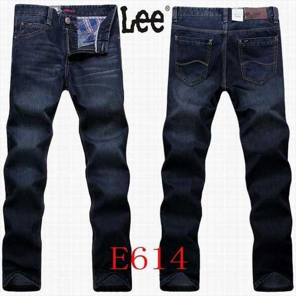 Haute Taille Lee 101 pantalon Cooper lee Jean Homme CodWrxBe