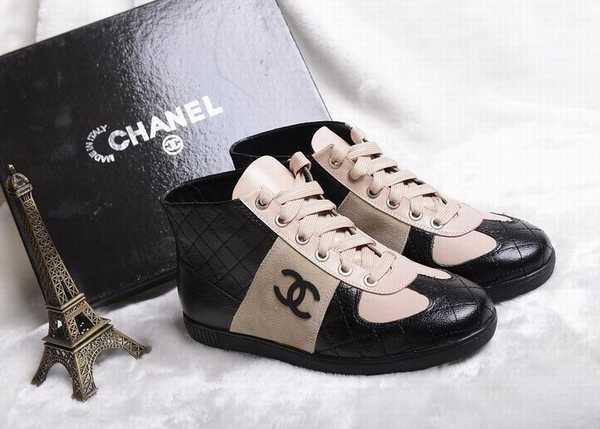 nouvelle basket chanel pas cher replique chaussure chanel pas cher achat  chaussures chanel7099165248563 1 f985c6937bb