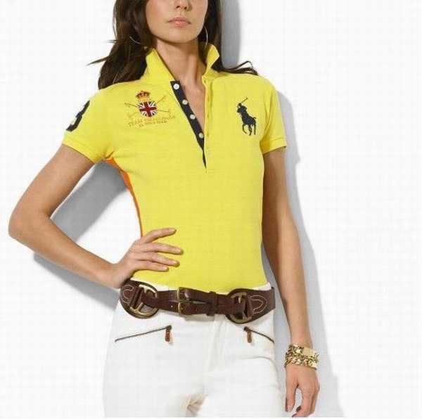 Cher Lauren Ralph Fiable Femme Polo polo Pas Et Rose xQdCoBWre